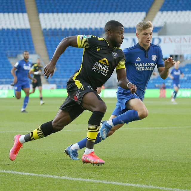 David Ajiboye EFL Cup Sutton United Cardiff City