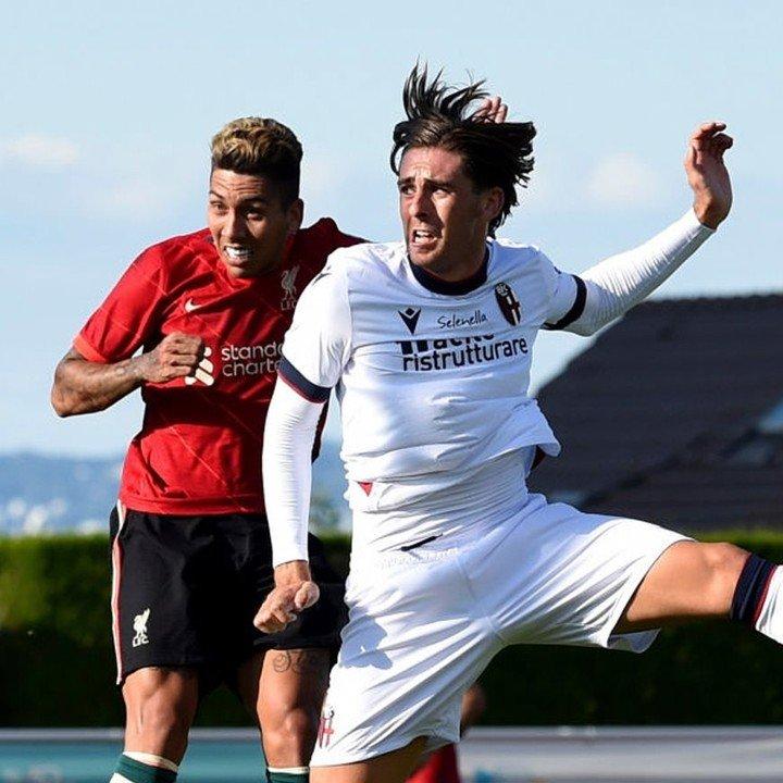 Luis Binks Bologna Liverpool Firmino